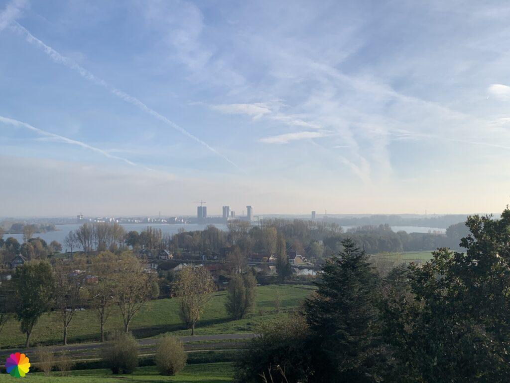View from the waste hill at Hoge Bergse woods
