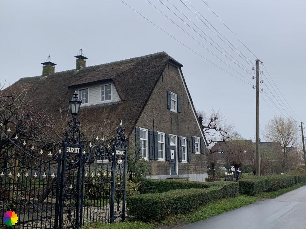 Mooie boerderij Suydt Brouc in buurtschap Zuidbroek