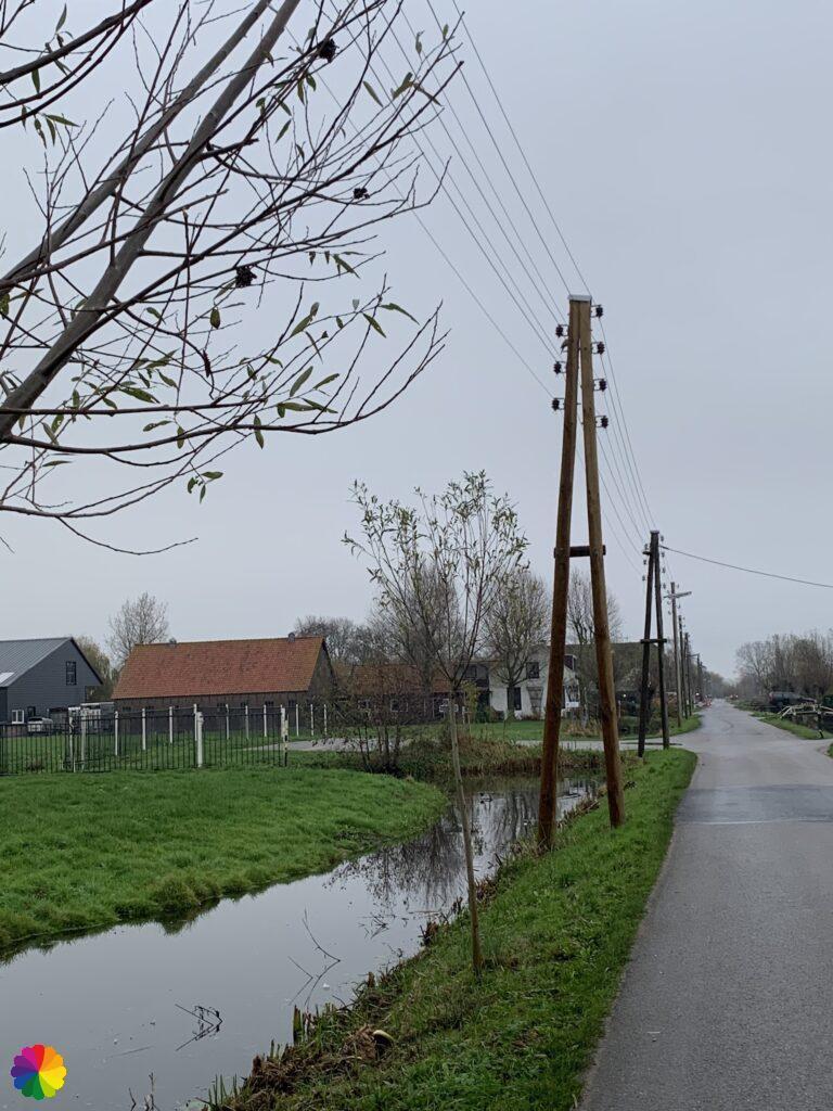 Polderweg richting Bergambacht