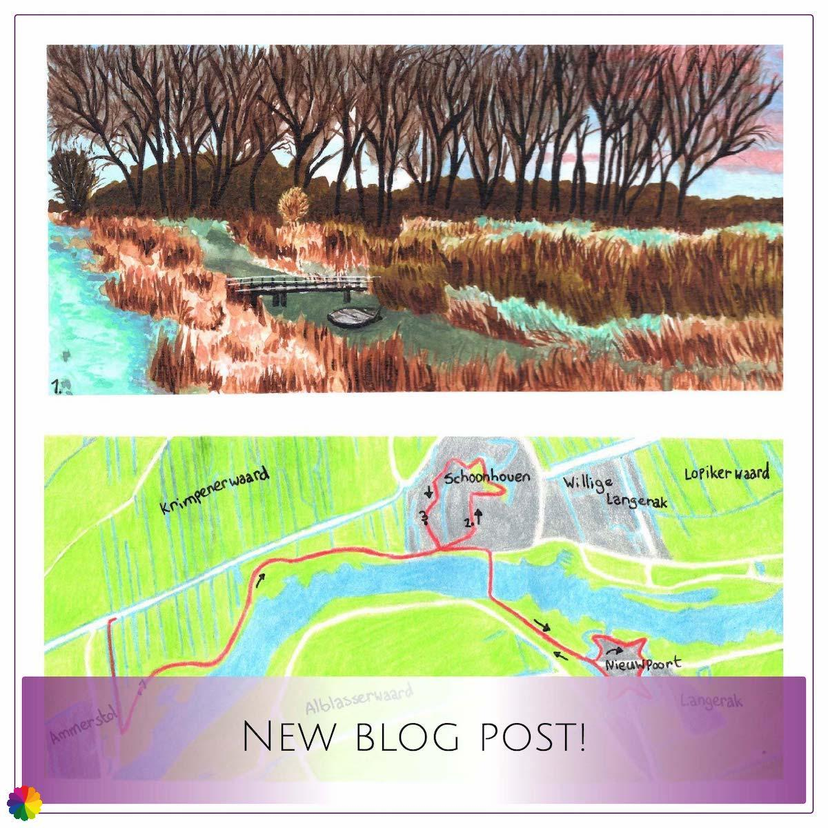 Blog-update Grote rivierenpad Ammerstol - Nieuwpoort