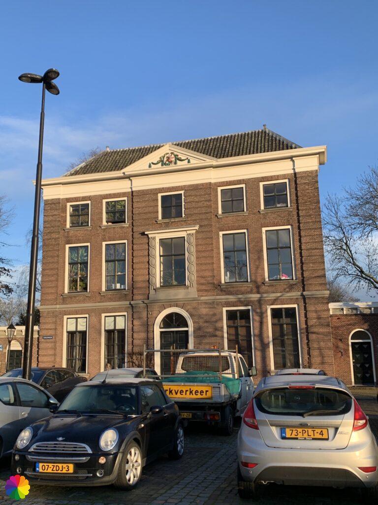 The Doelenhuis at the Doelenplein in Schoonhoven