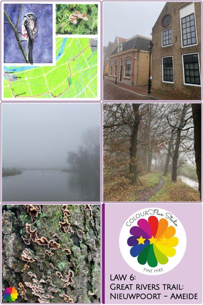 Pin Fine hike Great rivers trail Nieuwpoort - Ameide in the Netherlands