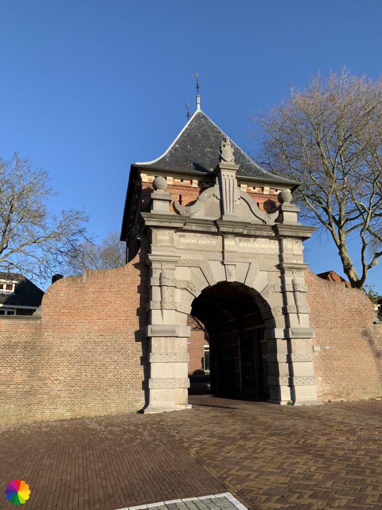 Veerpoort gate at Schoonhoven