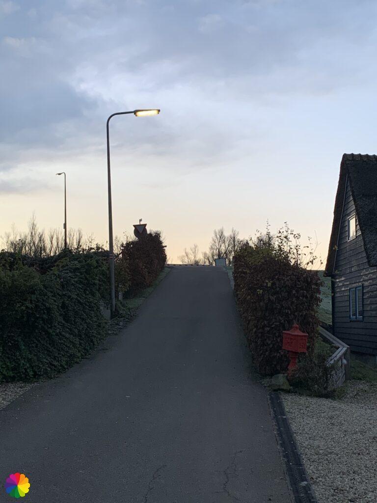 Towards the Lekdijk at Ammerstol