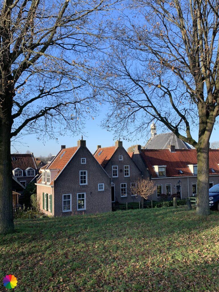 Little houses at Nieuwpoort