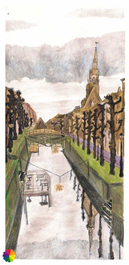 Illustratie Schoonhoven zilverstad