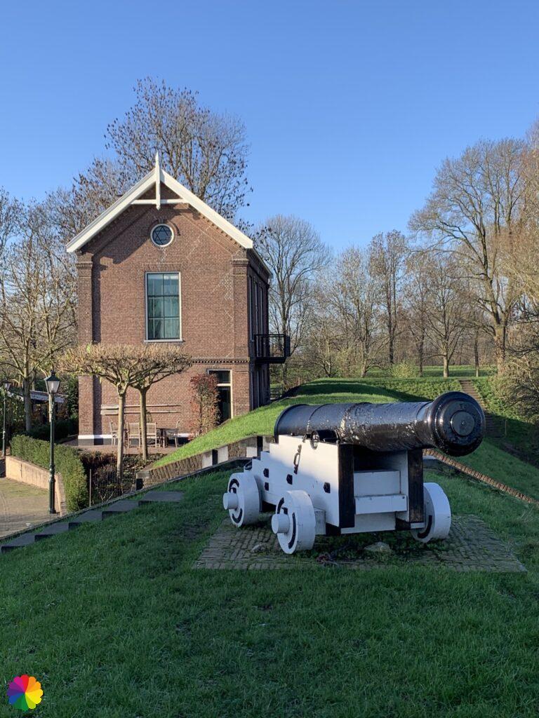 Cannon at Nieuwpoort