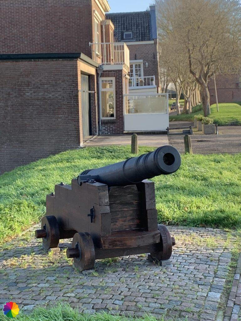 Cannon at Schoonhoven