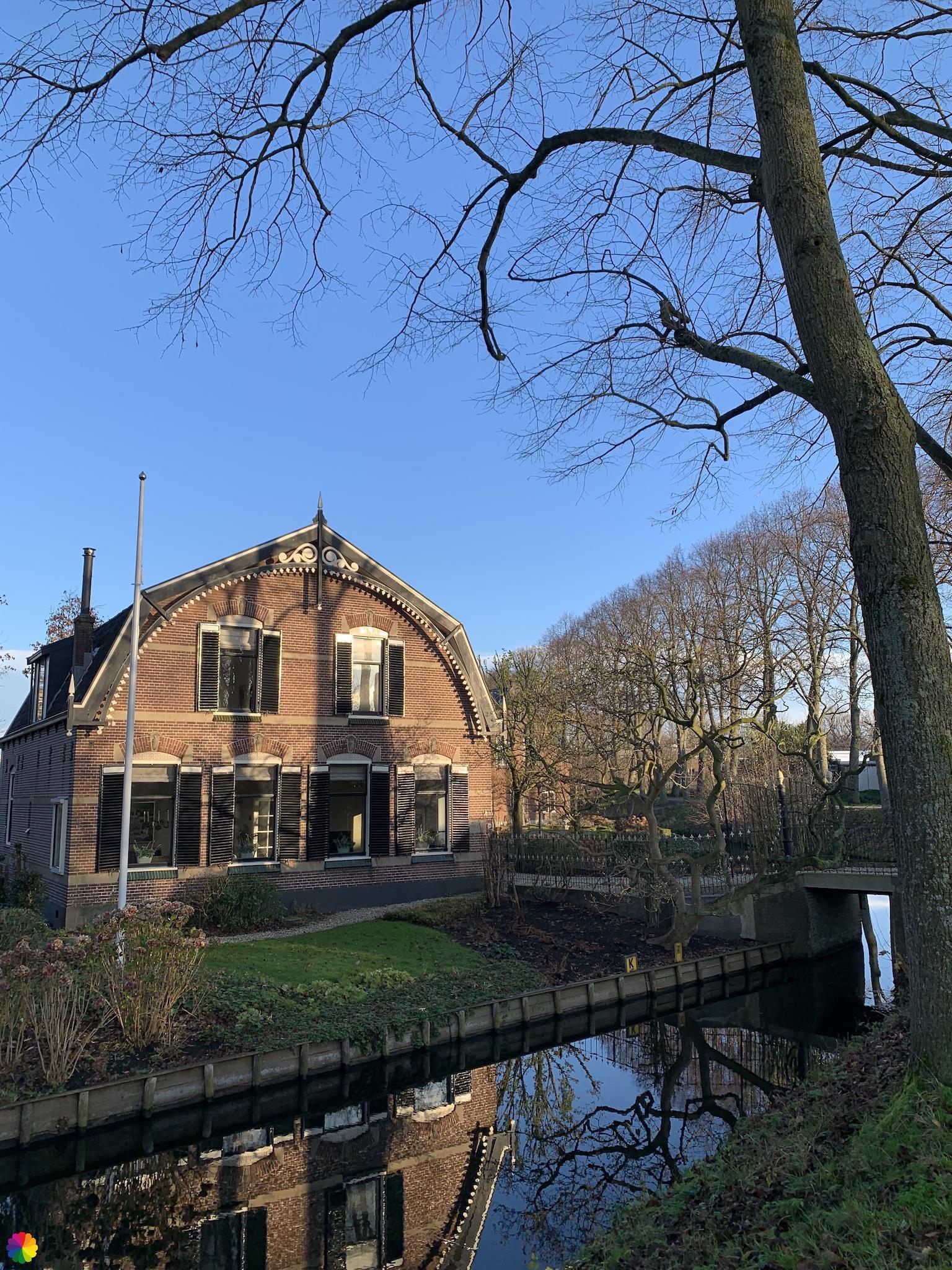 Mooi huis aan de Spoorsingel in Schoonhoven