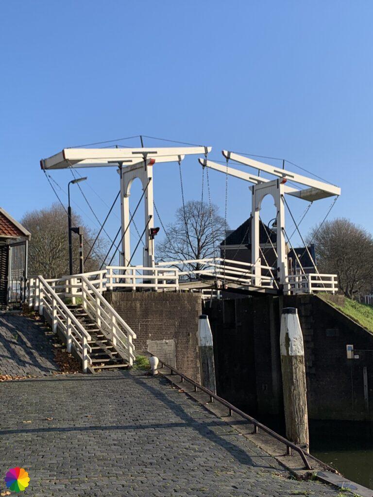 Drawbridge in Schoonhoven