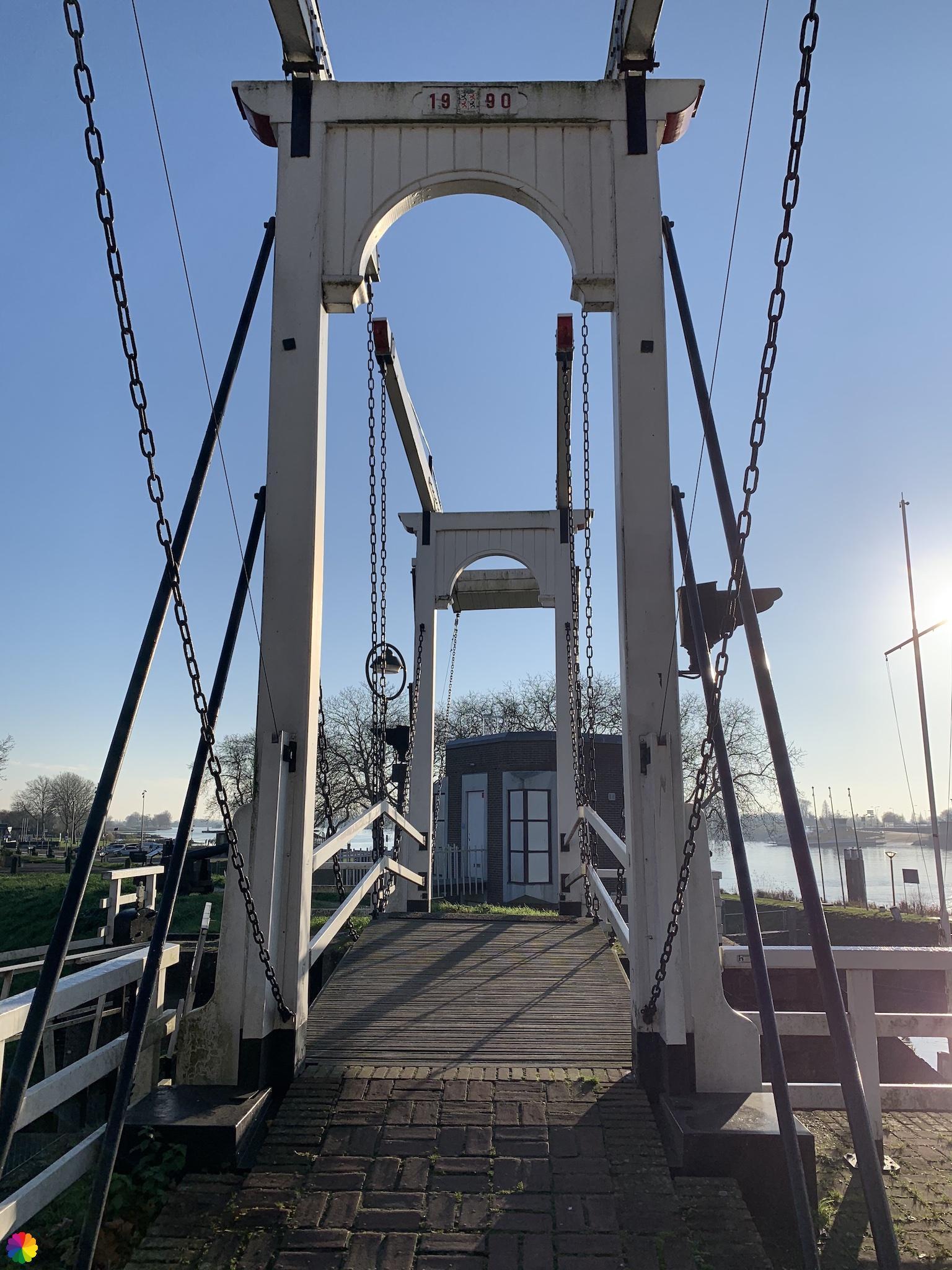 Ophaalbrug in Schoonhoven