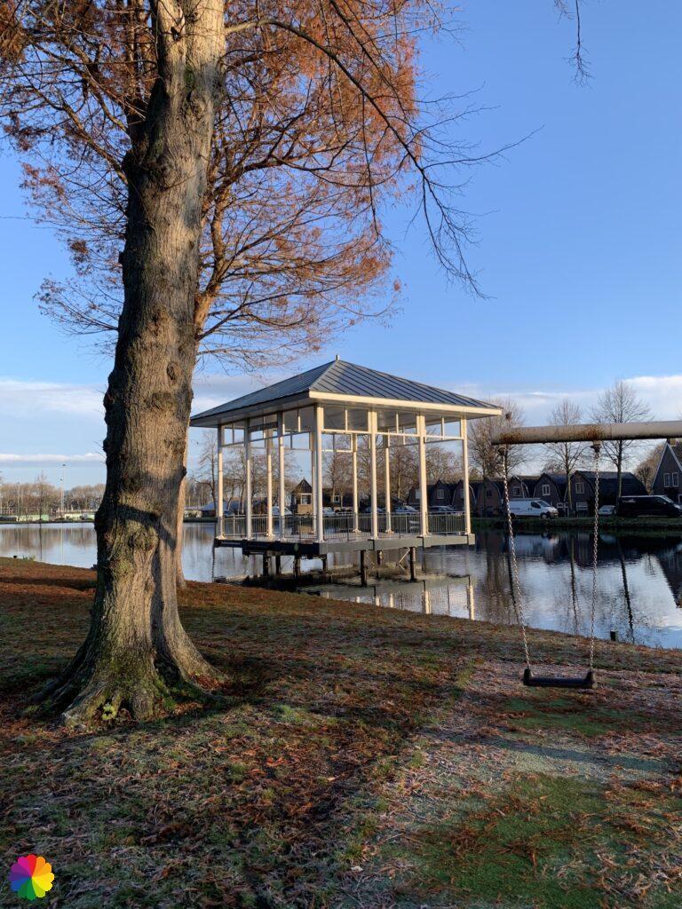 Music stand at Springer park in Schoonhoven
