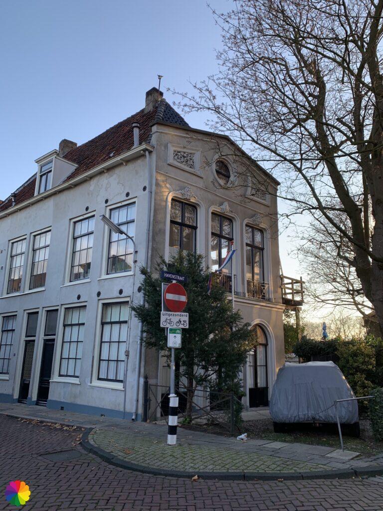 Beautiful building in Schoonhoven