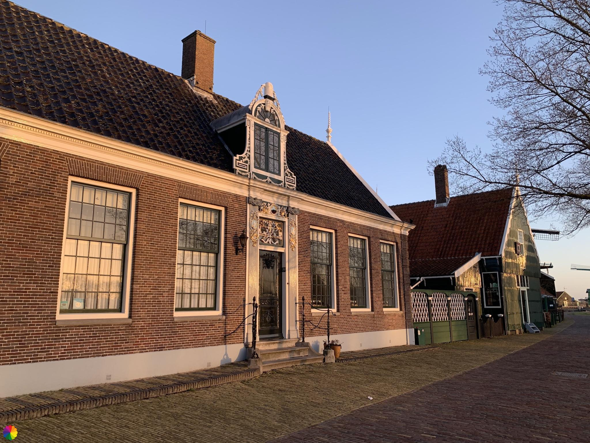 Prachtig huis in Zaanse Schans