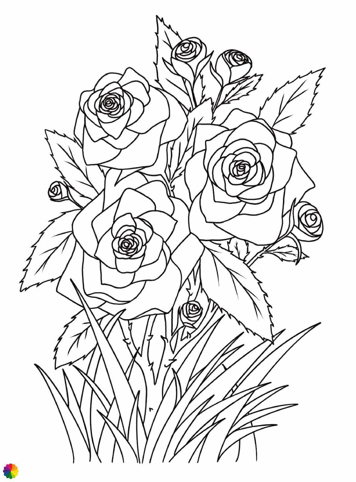 Rozen tattoo-ontwerp