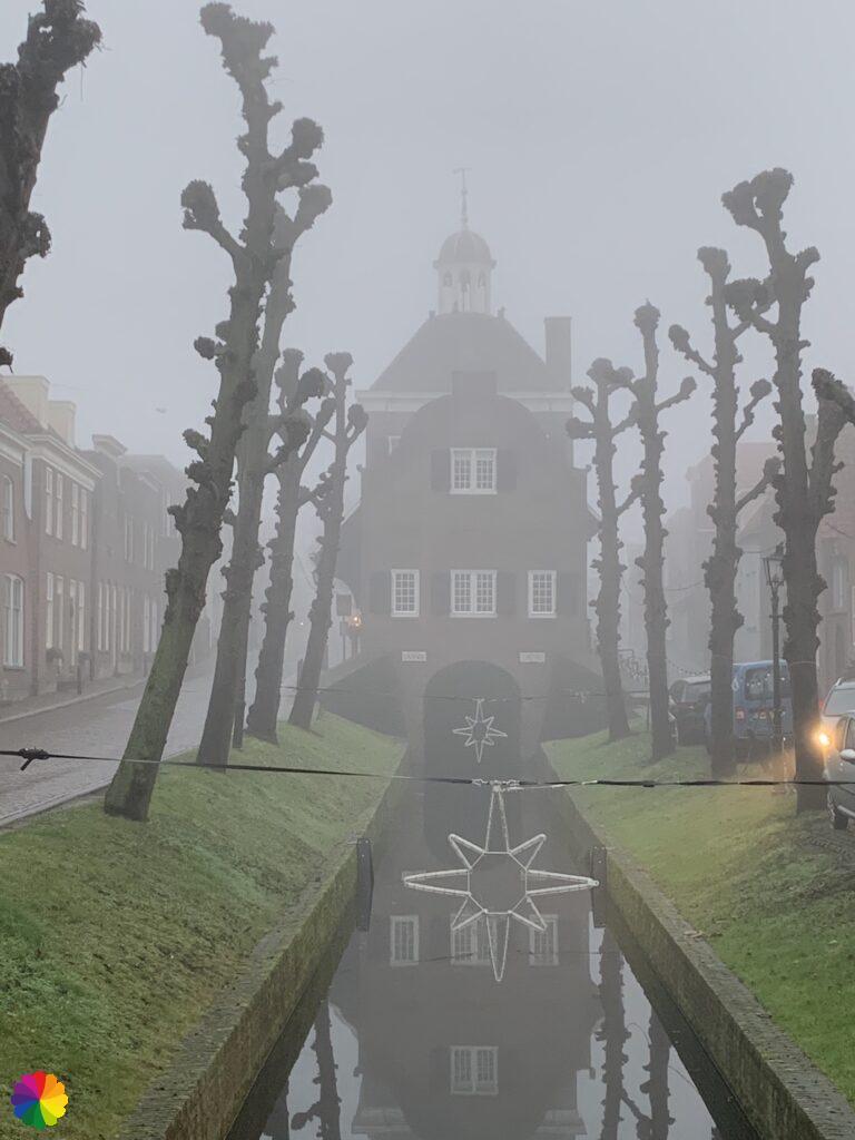 Stadhuis van Nieuwpoort achterkant