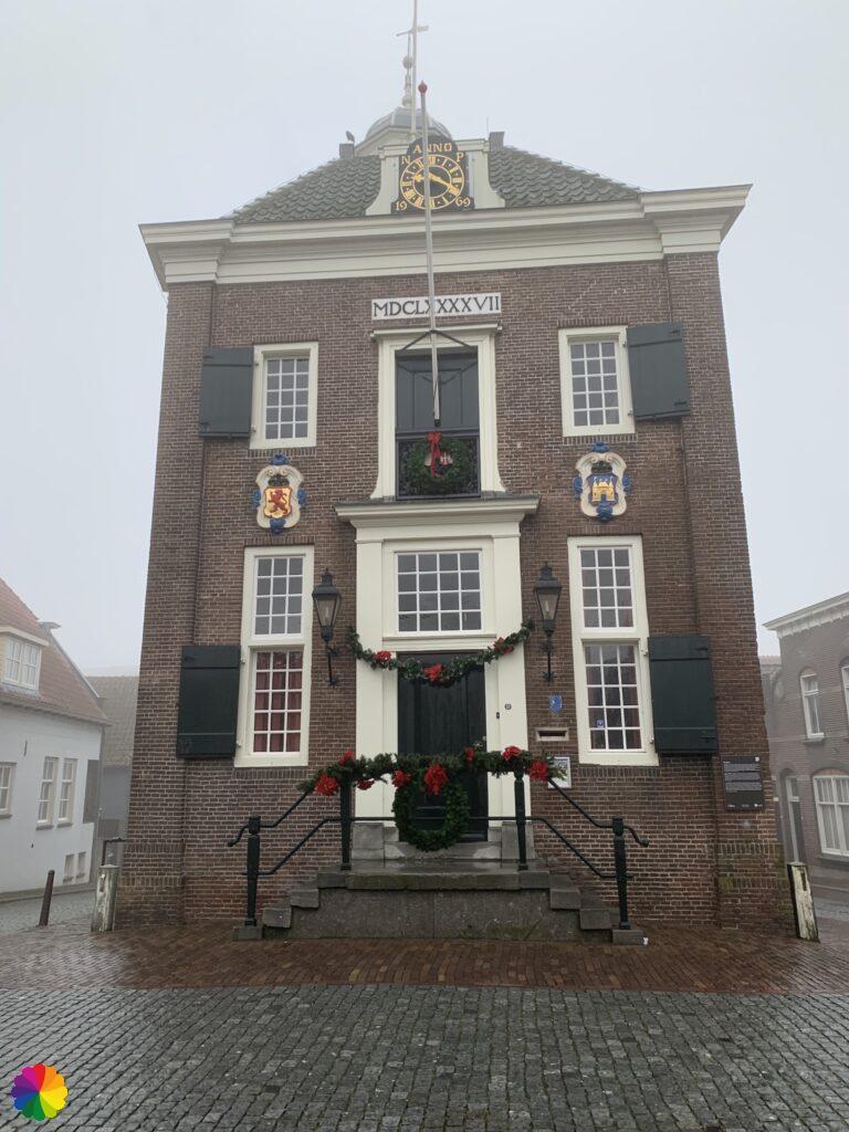 Stadhuis van Nieuwpoort voorkant