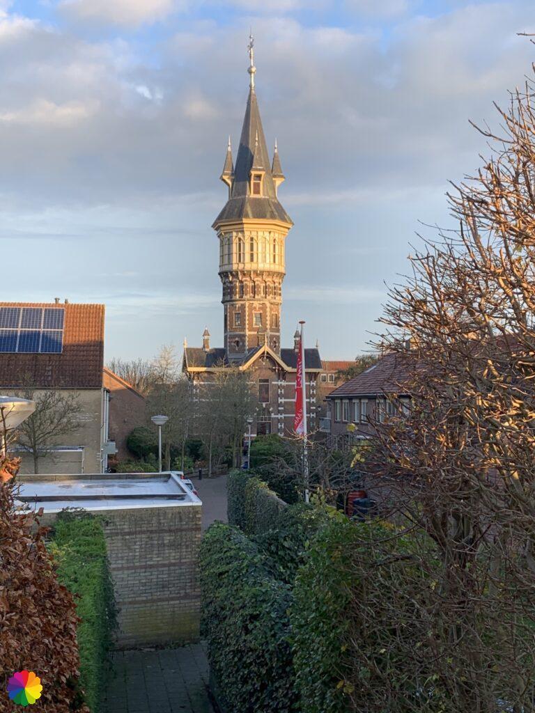 Water tower at Schoonhoven
