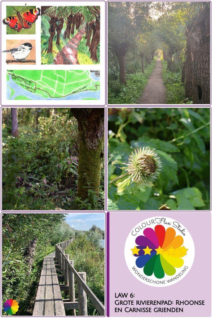Pin Wonderschone wandeling Grote rivierenpad Rhoonse en Carnisse Grienden