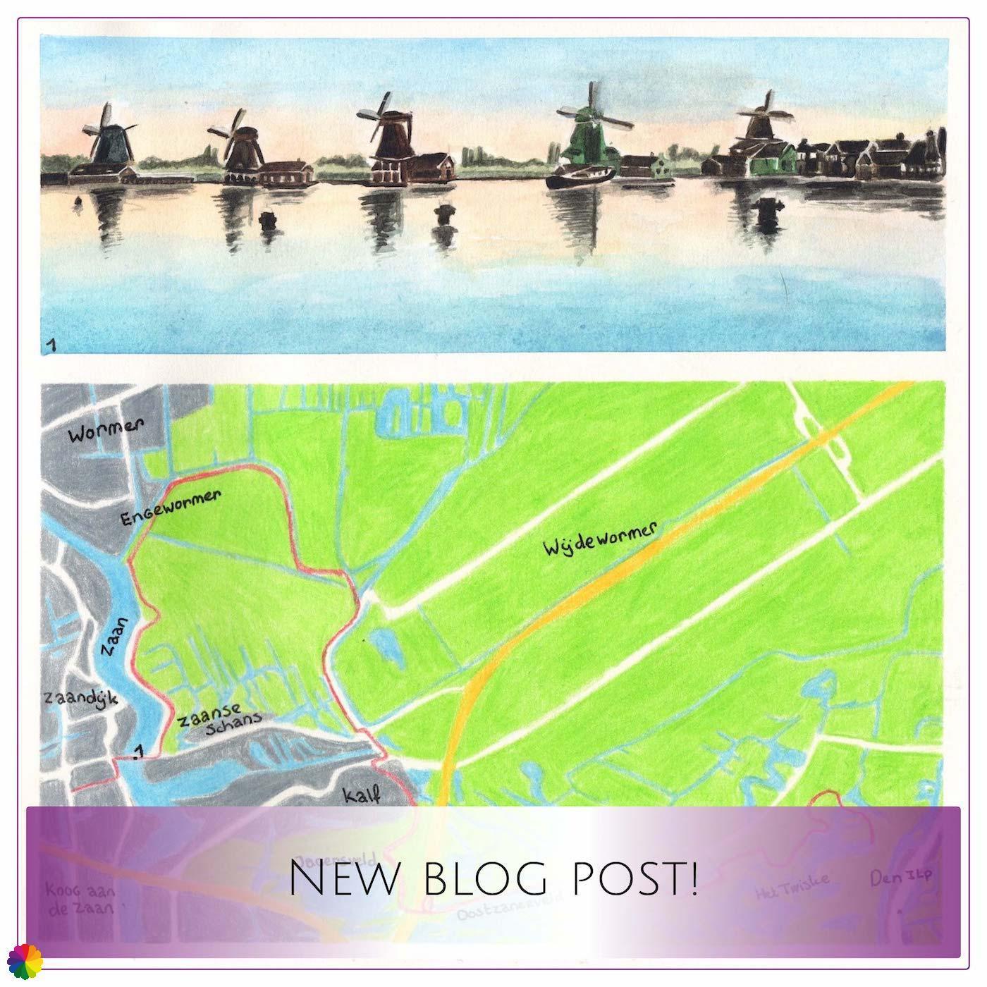 Blog update Migration birds trail Zaanse Schans - Den Ilp